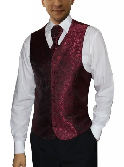 svadobná vesta a francúzska kravata