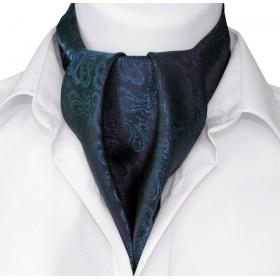 Askot granátový modrý paisley