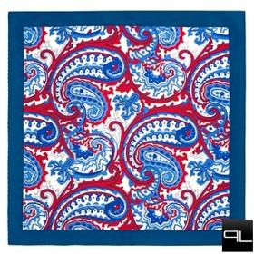vreckovka modro-červená