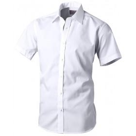 Košeľa s krátkym rukávom biela Victorio