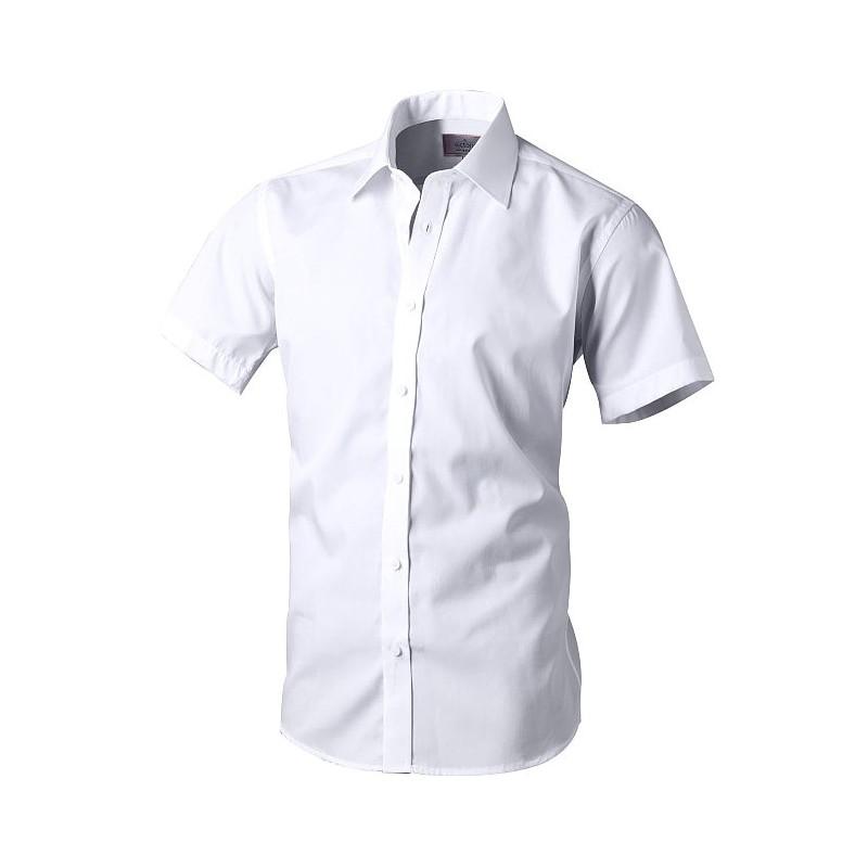 Košeľa s krátkym rukávom biela