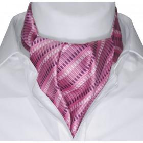Askot ružový vzorovaný