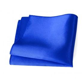 Vreckovka parížska modrá saténová
