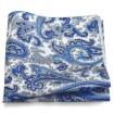 vreckovka bielo-modrá paisley
