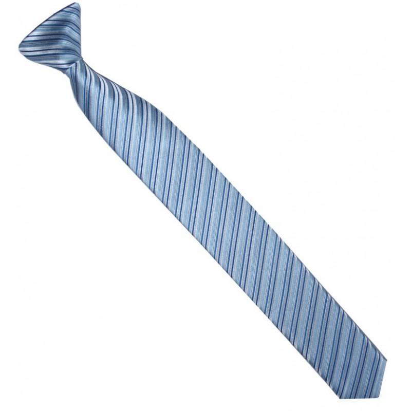 Detská kravata bodkovaná modrá
