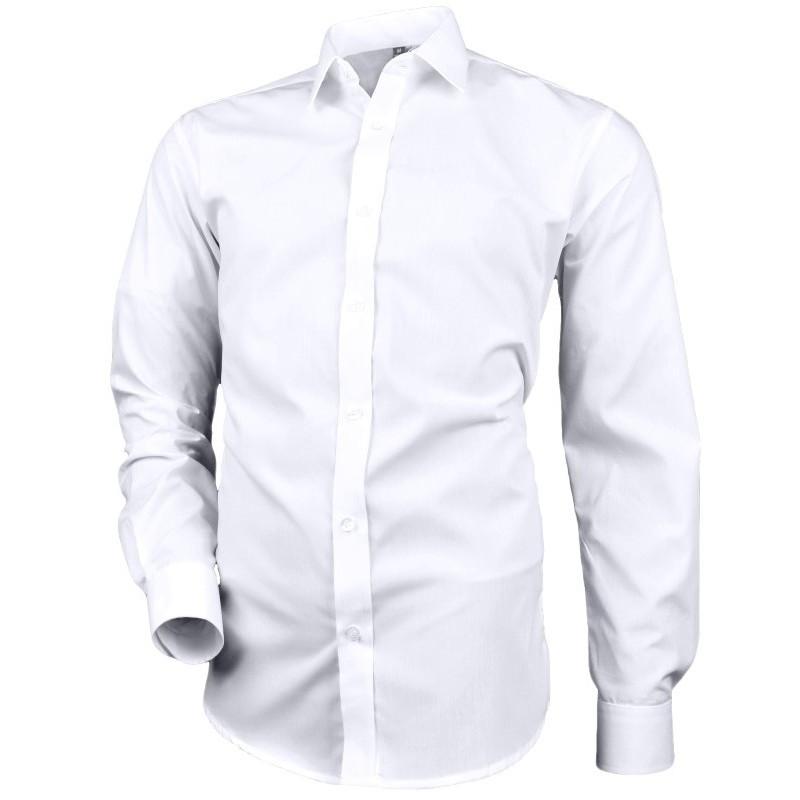 Pánska biela košeľa klasický strih Desire by Victorio