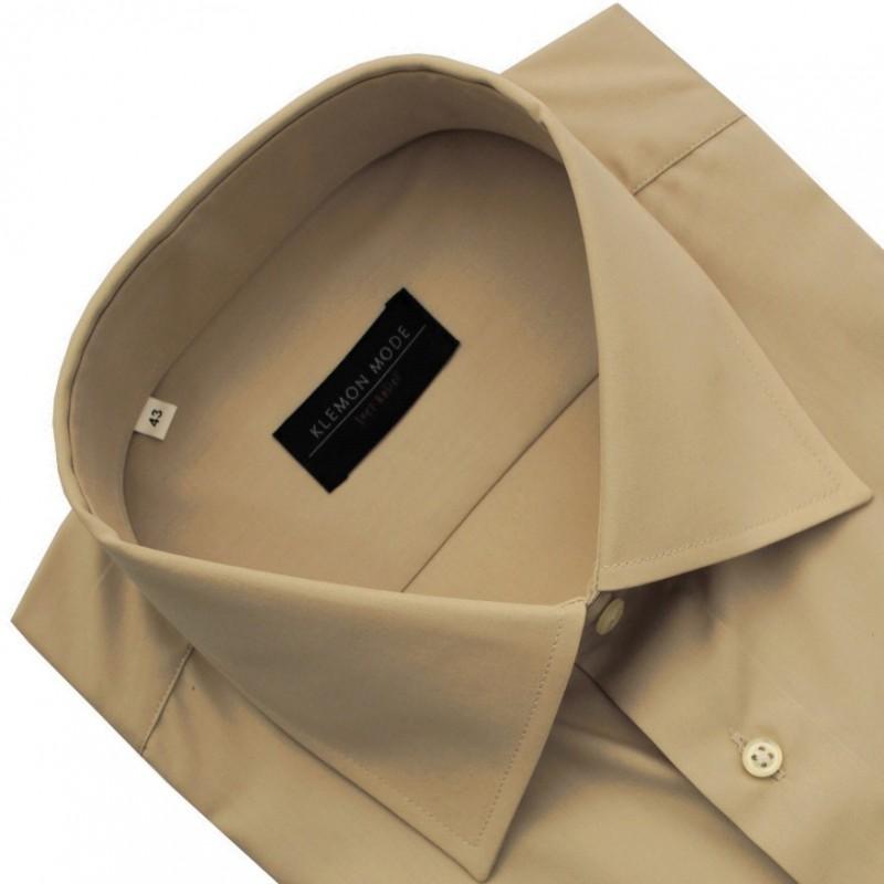 Béžová košeľa Klemon Fashion Exclusive collection
