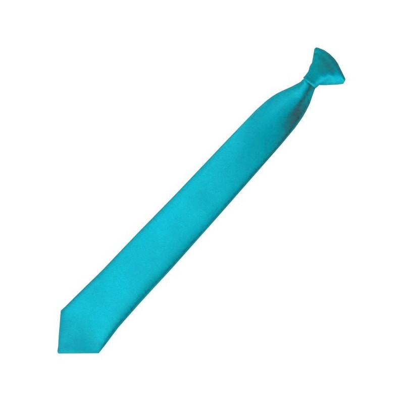 Tyrkysová detská kravata