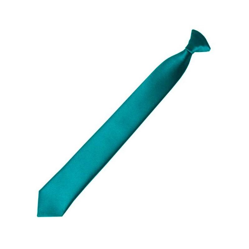 Detská kravata smaragdová