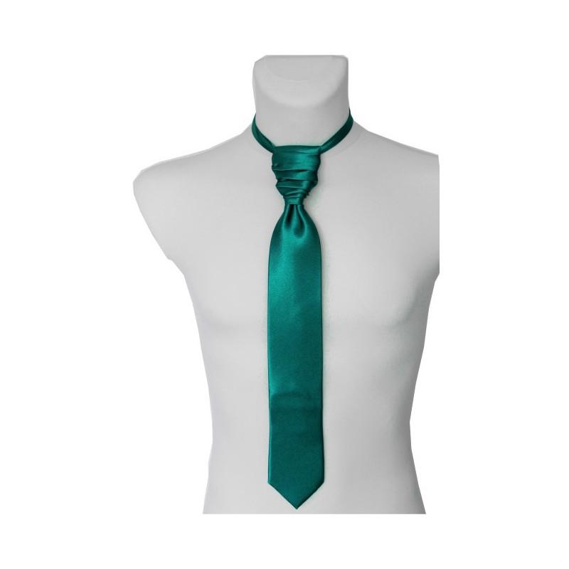 Smaragdová francúzska kravata